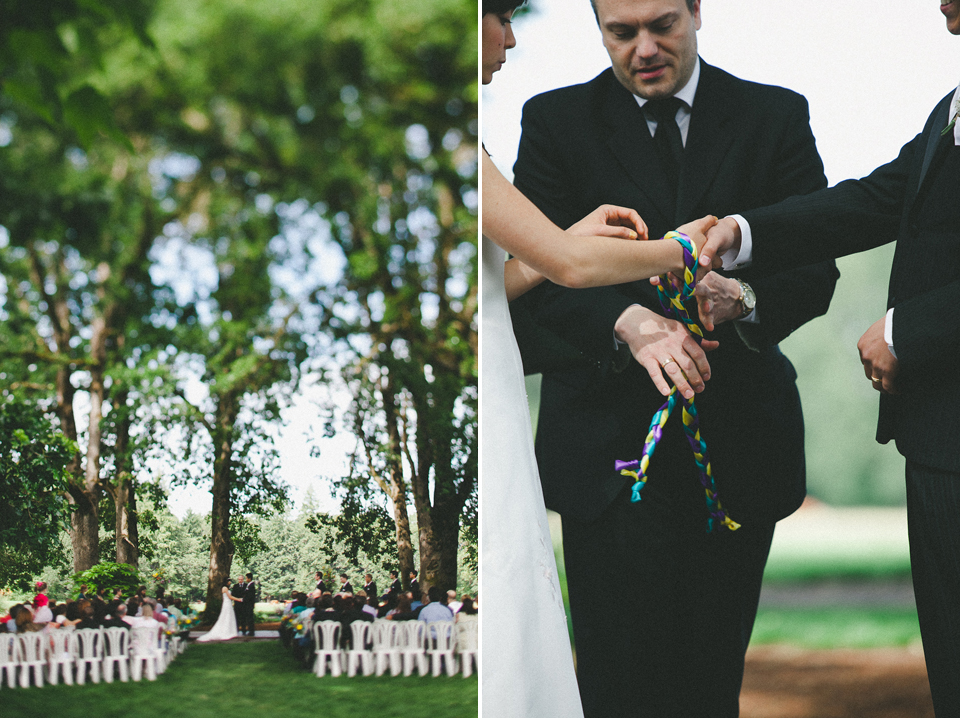 wedding ceremony postlewaits farm