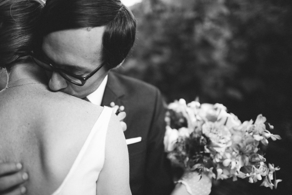 Vintage inspired wedding at McMenamin's Kennedy School in Portland, Oregon