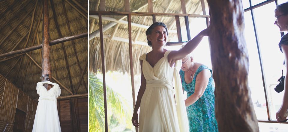 Belize american wedding photographer
