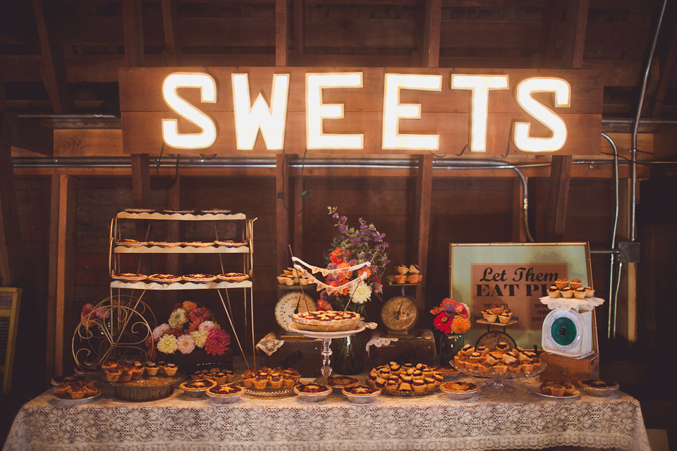 vintage barn wedding WA