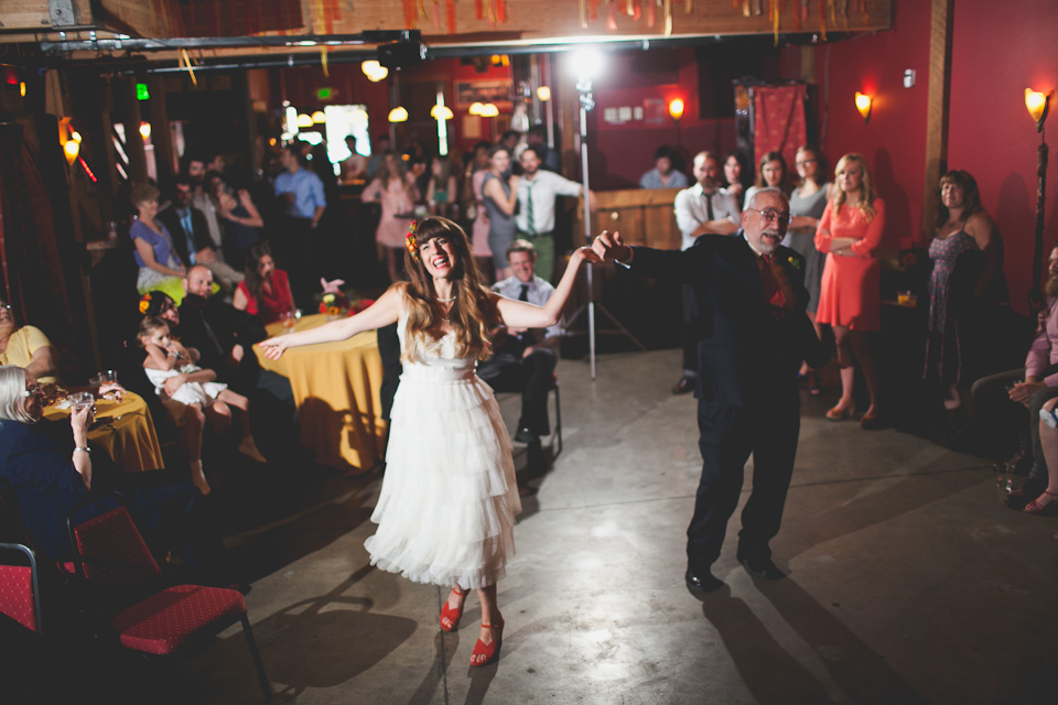 Indie Wedding Portland Oregon