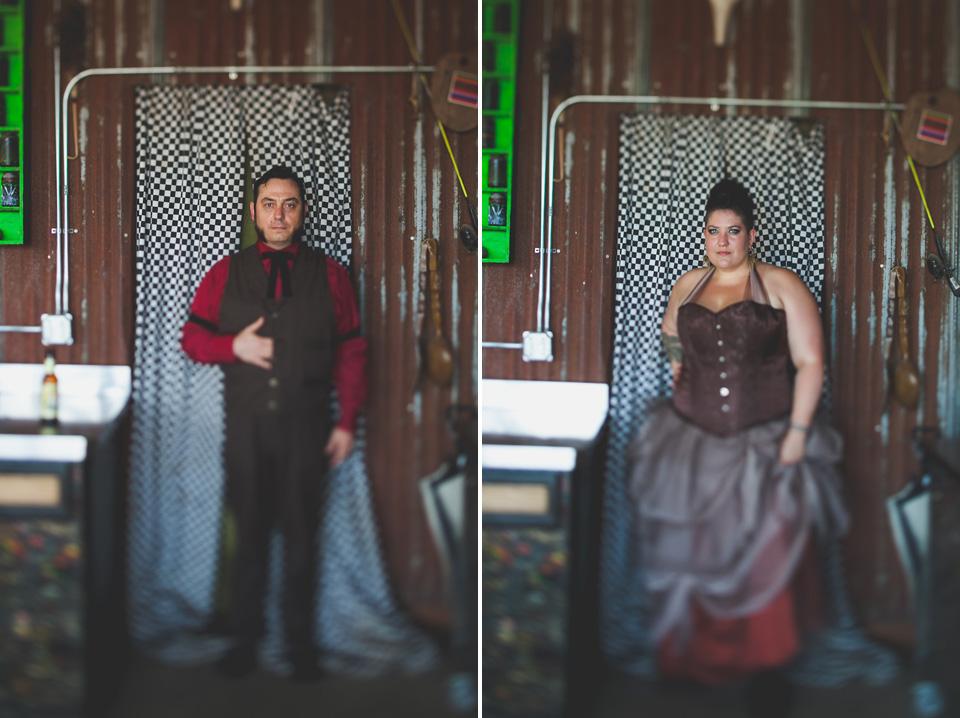 alternative wedding photography Portland