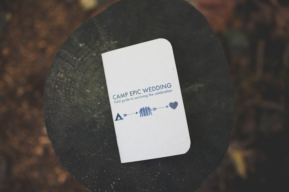 wedding program, portland