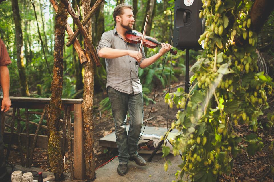 wedding violinist portland or