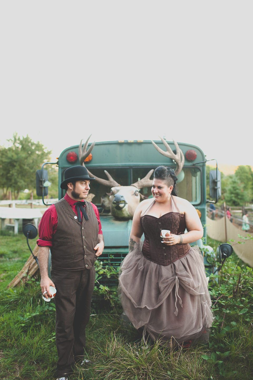 punk rock wedding photographer Portland