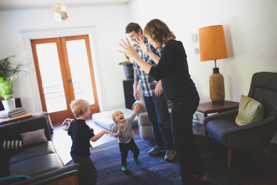 Candid Family Photographer Portland