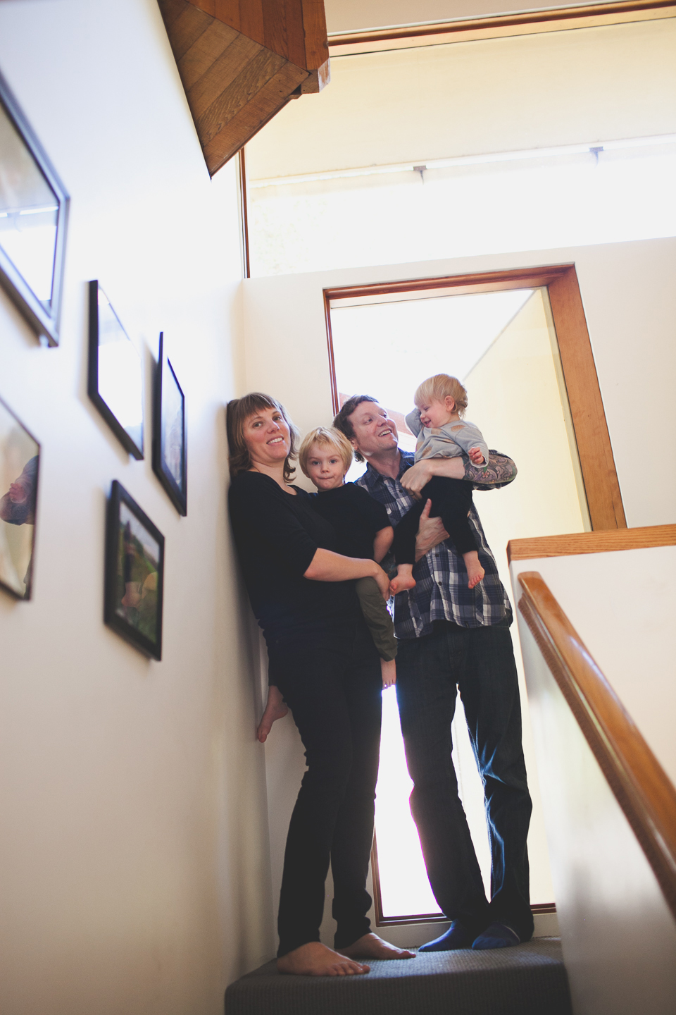 in home family photographer Portland