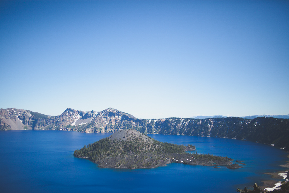 crater lake wedding