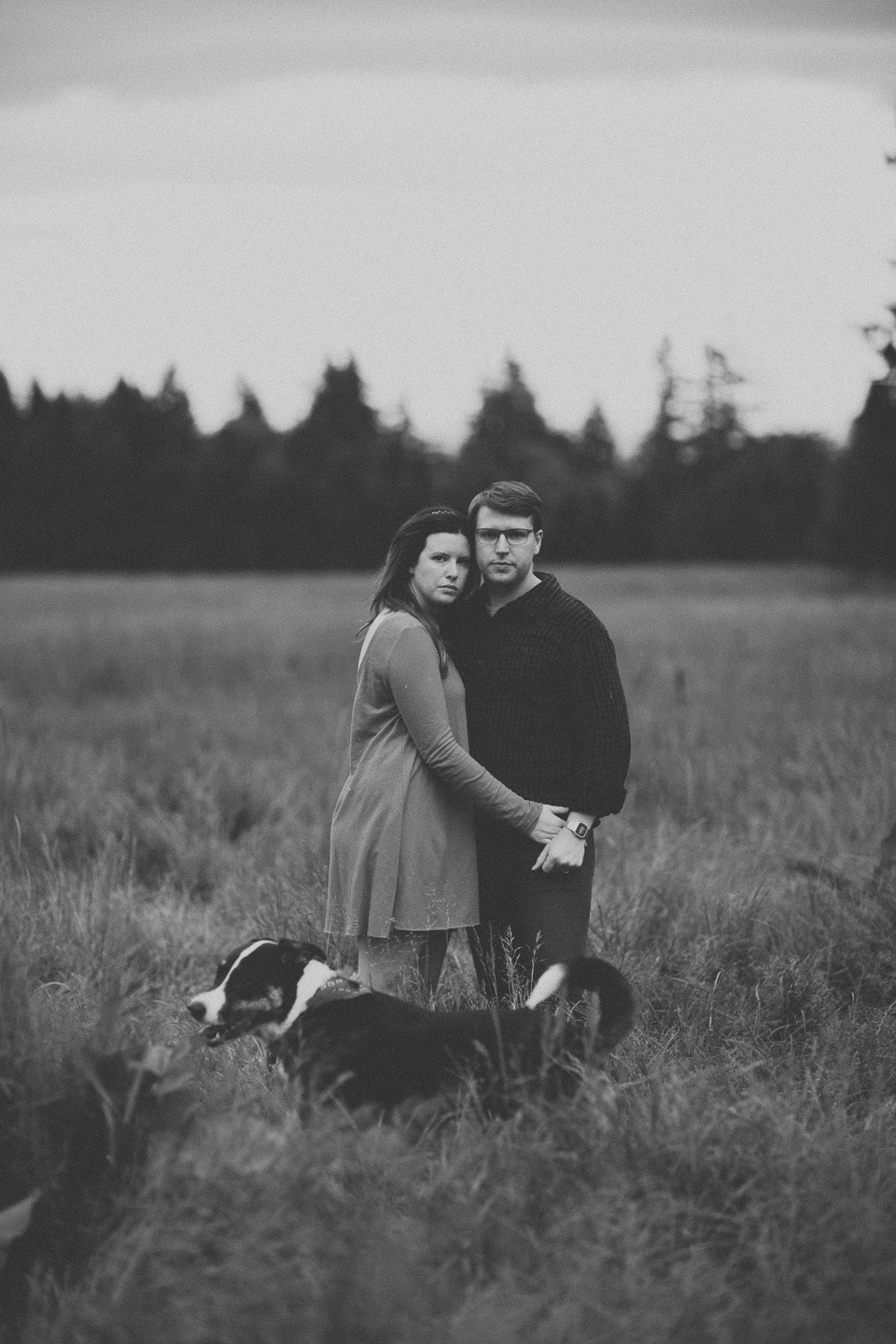 vintage engagement photographer portland