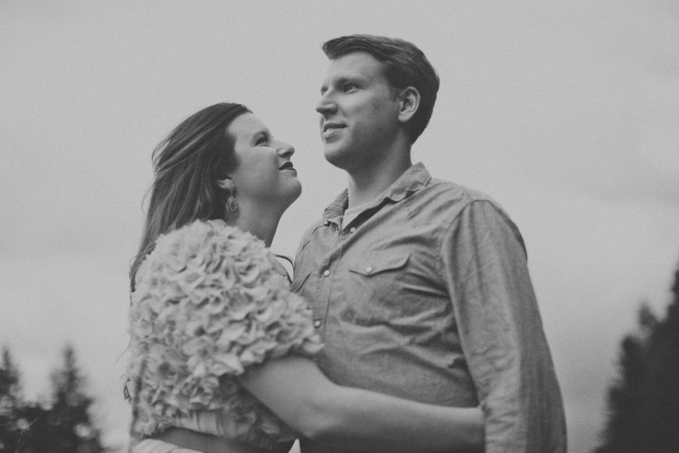 vintage engagement photographer, portland