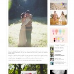 Liz & Max's Wedding Featured on Whimsical Wonderland Weddings