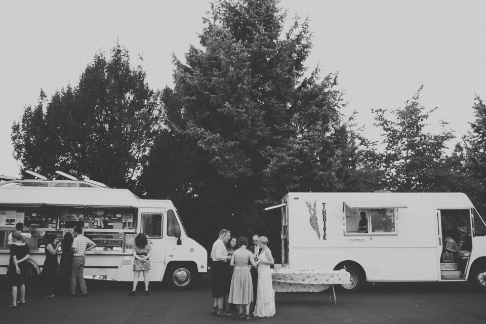 Food Cart Wedding