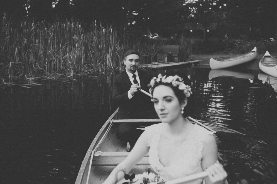 Bridal Veil Lakes wedding