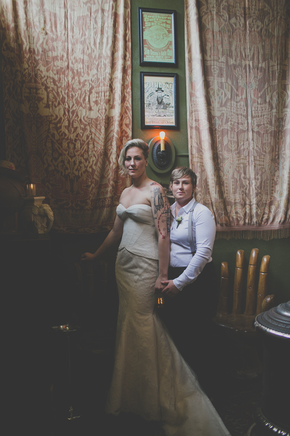 LGBT wedding photographer portland