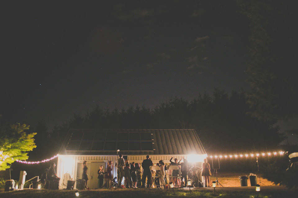 backyard wedding, Portland