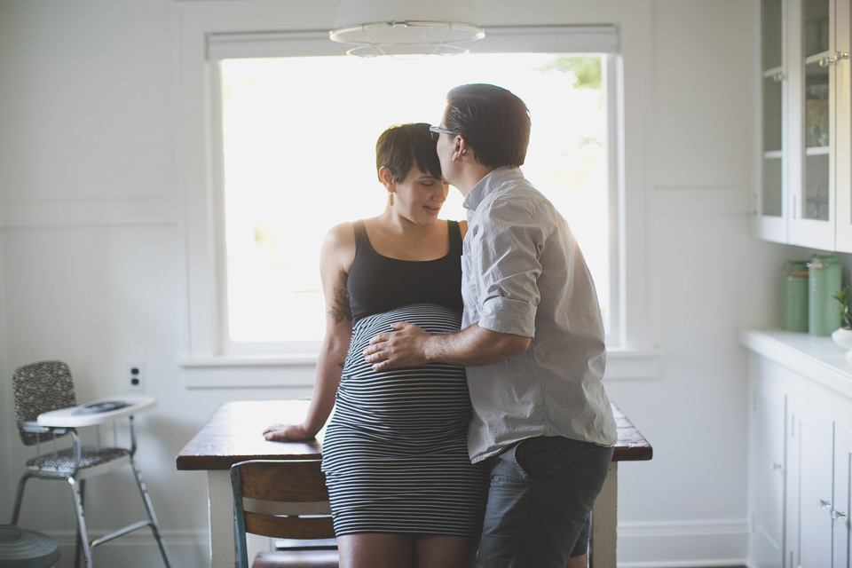 maternity photos Portland Oregon