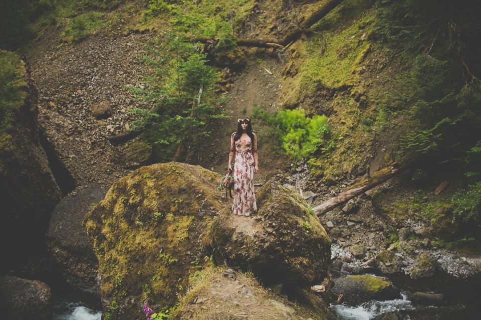 Wahclella Falls Elopement